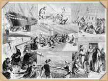 Life onboard a typical C19th New Zealand emigrant ship